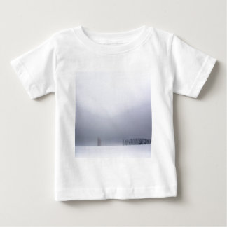 冬場面白の木 ベビーTシャツ