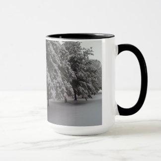 冬場面 マグカップ