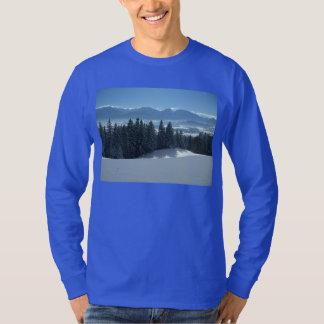 冬場面 Tシャツ