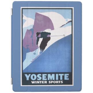 冬季スポーツのスキーの昇進ポスター iPadスマートカバー