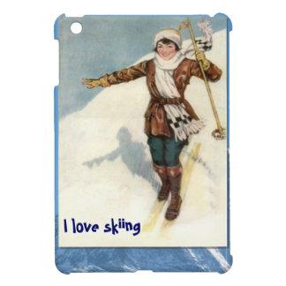 冬季スポーツ-ちょうど学びます iPad MINIケース