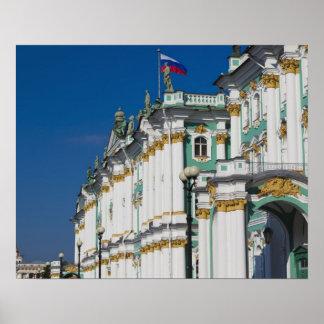 冬宮殿およびエルミタージュ美術館 ポスター