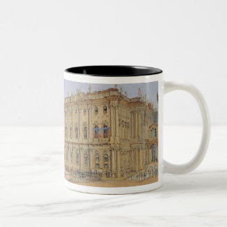冬宮殿の検討 ツートーンマグカップ