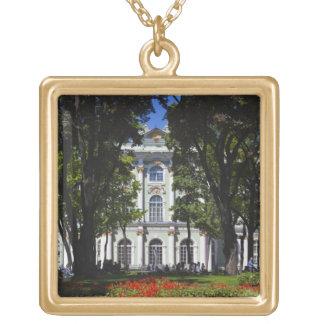 冬宮殿、外部エルミタージュ美術館 ゴールドプレートネックレス
