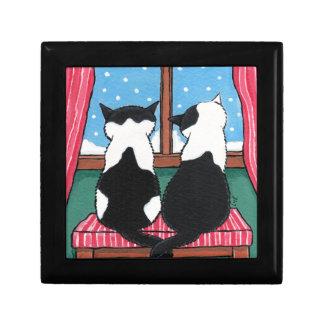 冬愛|猫の芸術の装身具のギフト用の箱 ギフトボックス