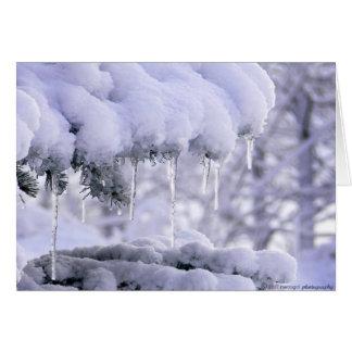 冬時間はここにあります カード