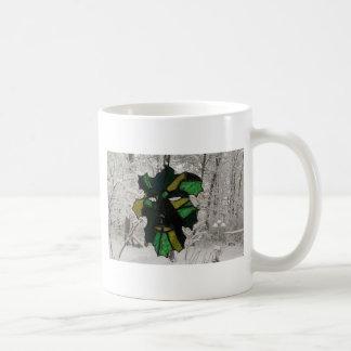冬1のGreenman コーヒーマグカップ