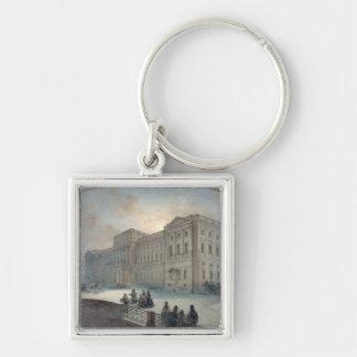 冬1863年のMariinsky宮殿の眺め キーホルダー