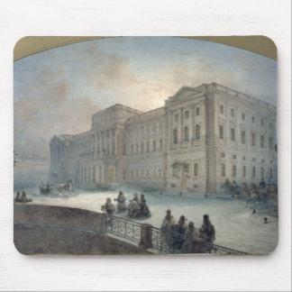冬1863年のMariinsky宮殿の眺め マウスパッド