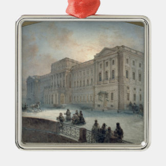 冬1863年のMariinsky宮殿の眺め メタルオーナメント