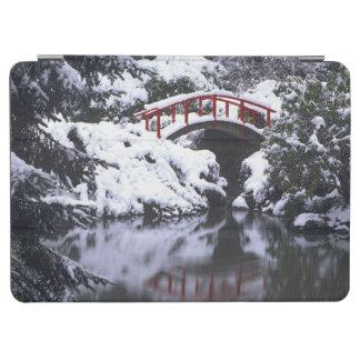 冬2後のWA、シアトル、月橋および池 iPad AIR カバー