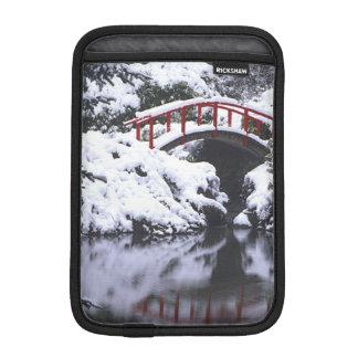 冬2後のWA、シアトル、月橋および池 iPad MINIスリーブ