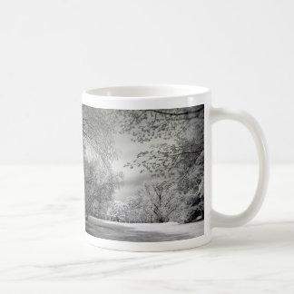 冬、ない コーヒーマグカップ