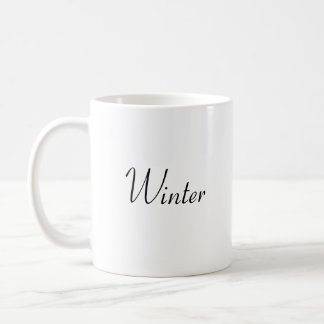 冬 コーヒーマグカップ