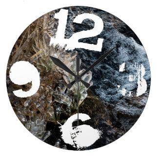 冬 ラージ壁時計
