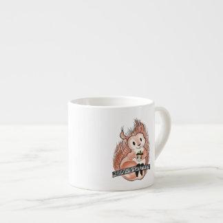 冬: リスの休日の絵 エスプレッソカップ