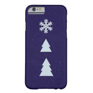 冬 BARELY THERE iPhone 6 ケース