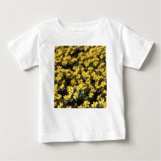 冬aconite (Eranthisのhyemalis) ベビーTシャツ