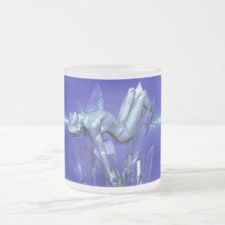 冬II -芸術のマグ フロストグラスマグカップ