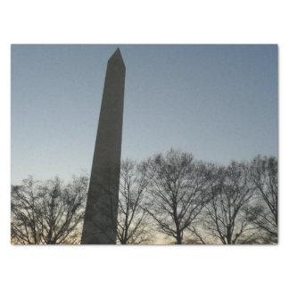 冬II DC旅行写真のワシントン記念塔 薄葉紙