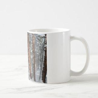 冬Ponderosa コーヒーマグカップ