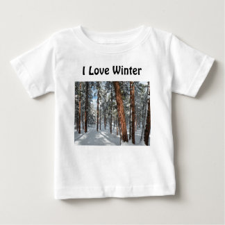 冬Ponderosa ベビーTシャツ