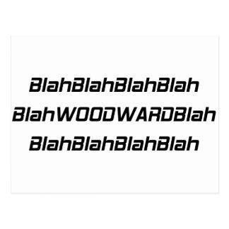 冴えない冴えないWoodward ポストカード