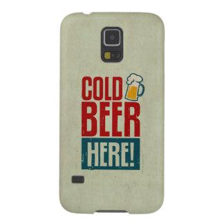 冷えたビール GALAXY S5 ケース