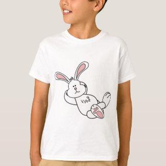 冷えるかわいいイースターのウサギ Tシャツ