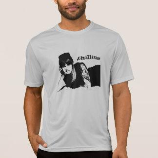 冷えること Tシャツ
