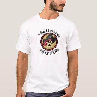冷え-ソフトウェア海賊 Tシャツ
