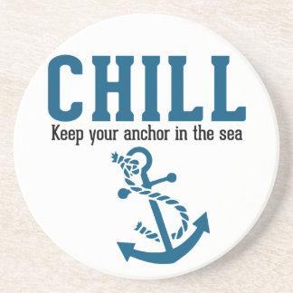 冷え。 海のあなたのいかりを保って下さい コースター