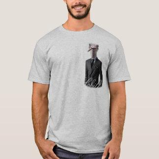 冷たいだちょうのティー Tシャツ
