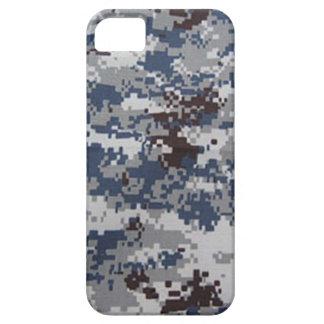 冷たいデジタル迷彩柄のiPhone 5の場合 iPhone SE/5/5s ケース