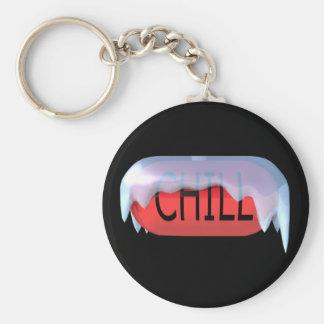 冷たい丸薬赤Keychain キーホルダー