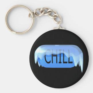 冷たい丸薬青いKeychain 02 キーホルダー