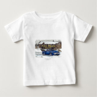 冷たい冬の日 ベビーTシャツ