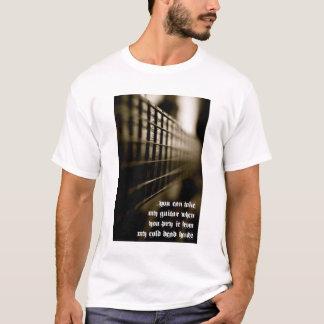 冷たい圧力(ギター) Tシャツ