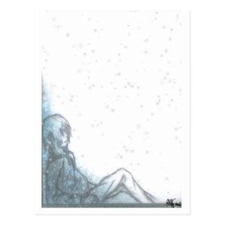 冷たい夜明け ポストカード