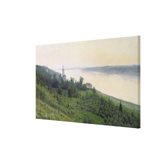 冷たい景色1889年 キャンバスプリント