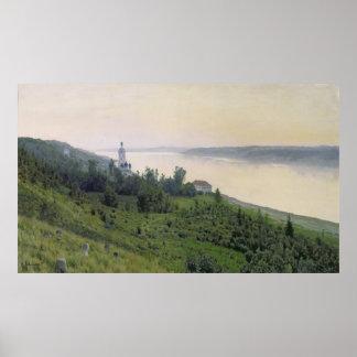 冷たい景色1889年 ポスター
