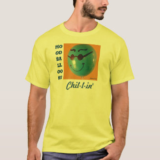 冷たい気分の気球の黄色 Tシャツ