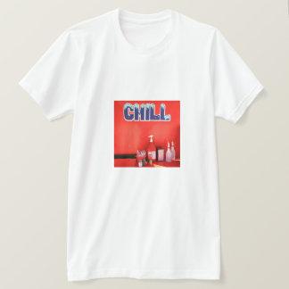 冷たい通りの写真のティー Tシャツ