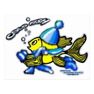 冷たい魚 ポストカード