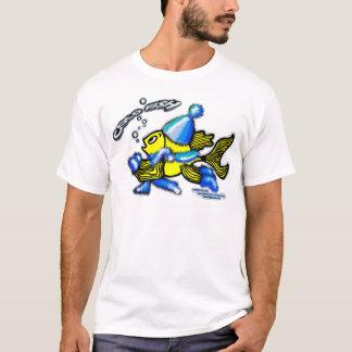 冷たい魚 Tシャツ