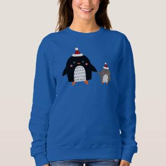 冷ややかなペンギン スウェットシャツ