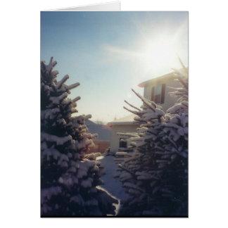 冷ややかな太陽のnotecards カード