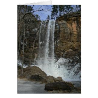 冷ややかな滝 カード