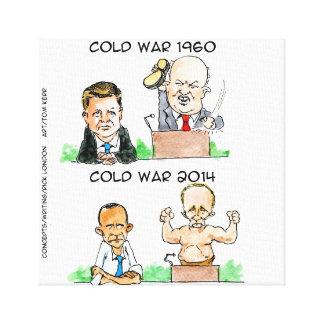 冷戦のおもしろいなキャンバスのプリント キャンバスプリント