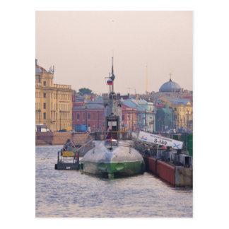 冷戦の潜水艦 ポストカード